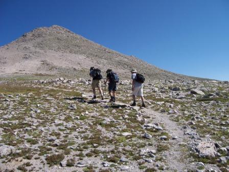 on the way to Mt. Shavano